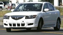 New Mazda 3 Test Mule Looking Messy