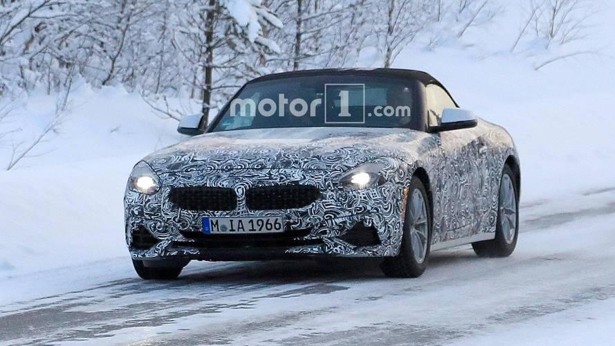 BMW Z4, iki farklı donanım paketiyle testte