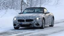 Pair of BMW Z4 Testing Spy Shots
