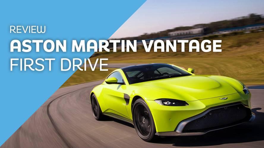 2018 Aston Martin V8 Vantage first drive: It's turbo time