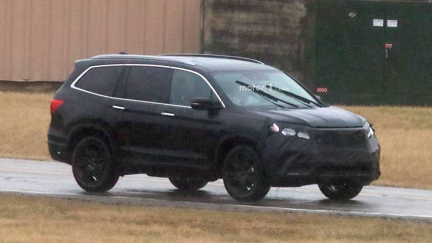 New Honda Accord Sedan >> 2019 Honda Pilot Spied For First Time With New Face