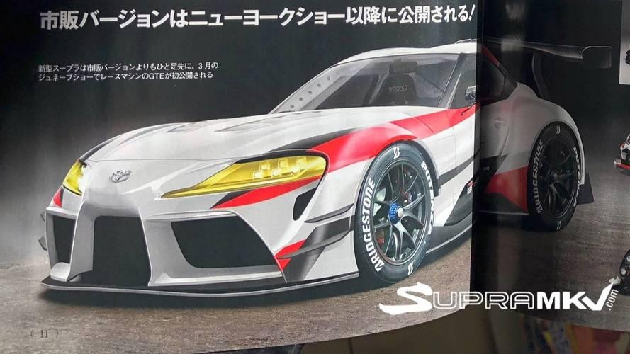 Toyota Supra 2018