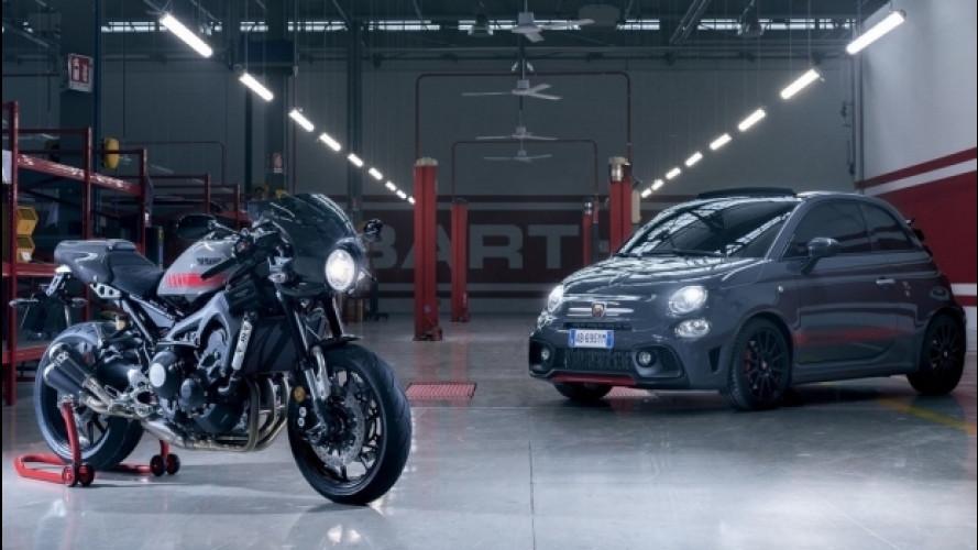 Abarth Tributo XSR, così lo Scorpione omaggia la Yamaha XSR 900