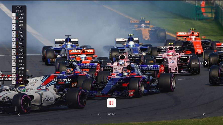 F1 - La F1 lance son service de streaming