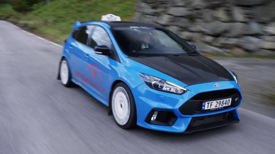 Ford Focus RS taxi noruego