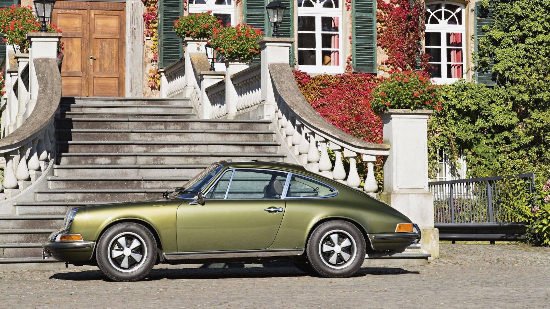 Ferry Porsche's Olive Green 911 Is Still Stunning, 49 Years Later on susanne porsche, erwin komenda, ferdinand oliver porsche, ferdinand alexander porsche, porsche family, zell am see, franz josef popp, ferdinand porsche, siegfried marcus,