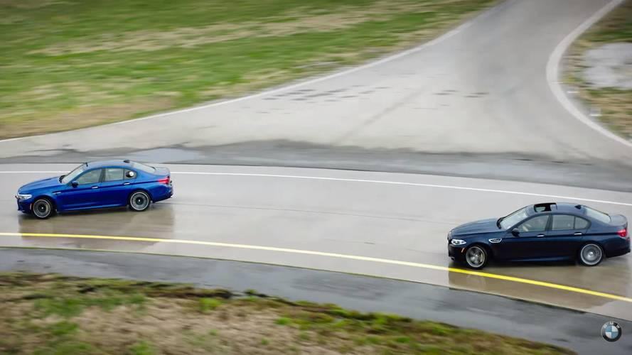 BMW Teases M5 Drifting Performance Video