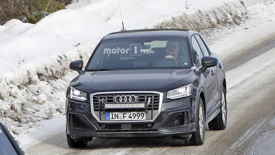 2019 Audi SQ2 new spy photos