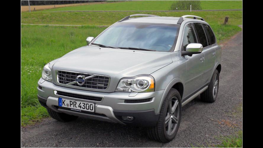 Volvo XC90 D3 Geartronic: So jung und doch schon so alt