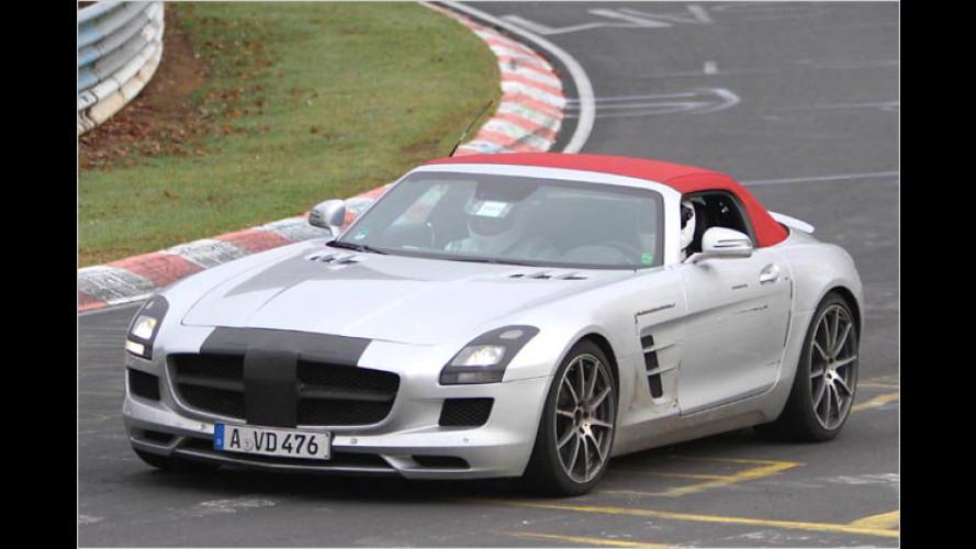 Erwischt: Mercedes SLS AMG Roadster