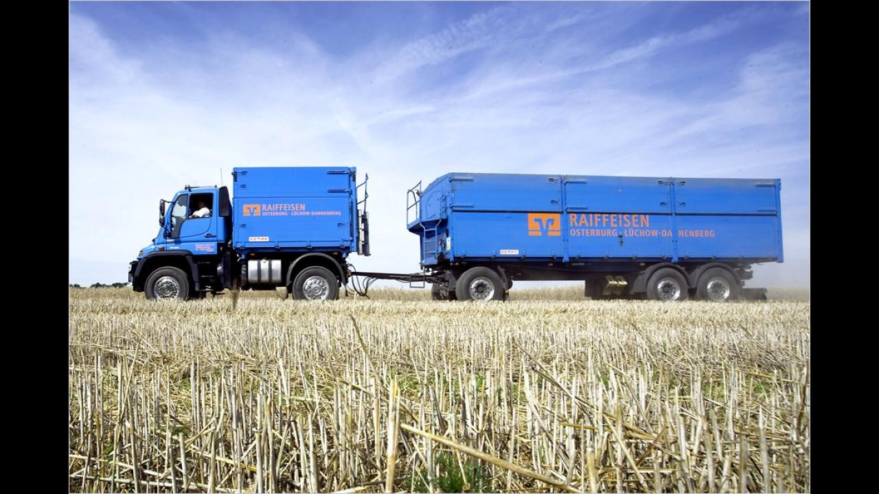 Zugmaschine in der Landwirtschaft