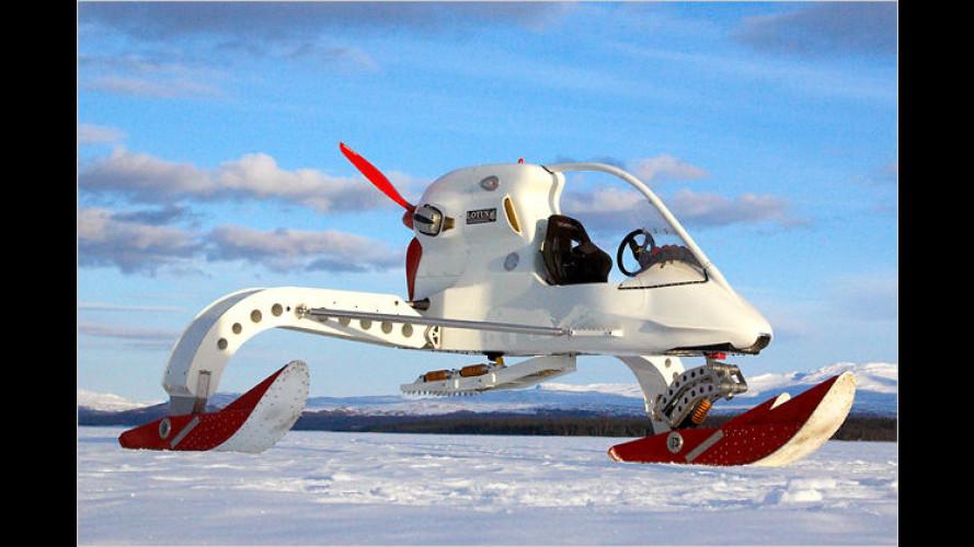Concept Ice Vehicle: Propeller-Schlitten auf Antarktis-Trip
