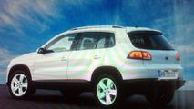 VW Tiguan facelift rear shot leaked?
