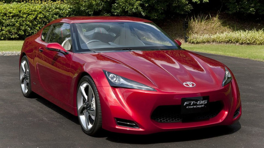 Toyota FT-86 Concept Previewed