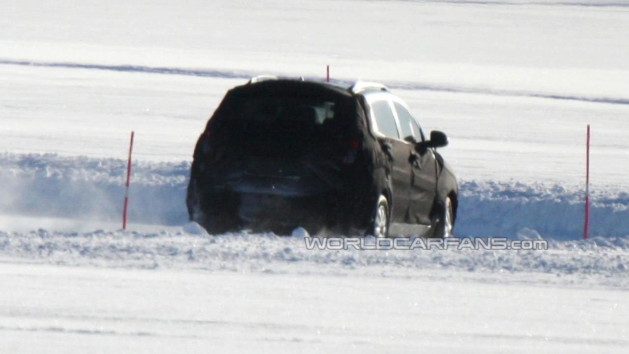 2010 Kia Sportage Spy Photo in Scandinavia