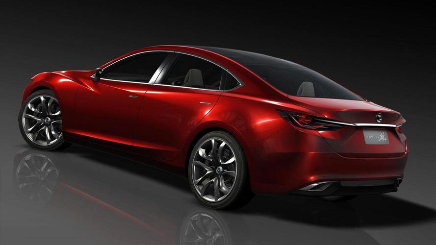 Mazda6 coupe under development - report