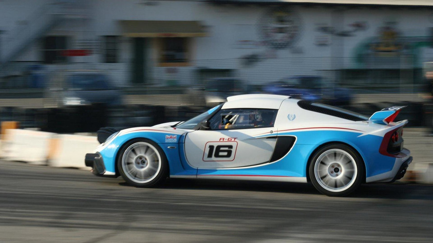 Lotus Exige R-GT Rally gets first track test