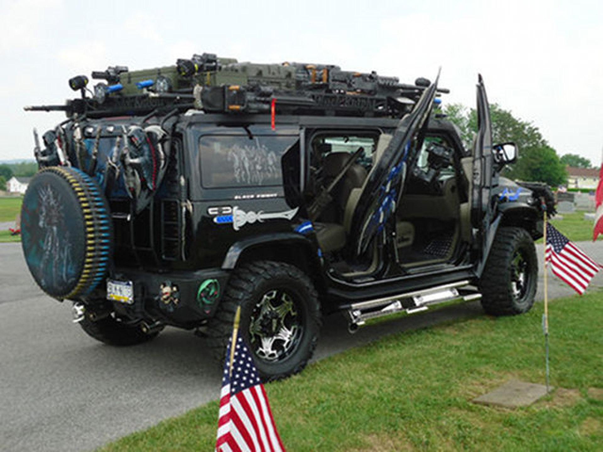 eBay ! of the week: Hummer H2 Black Knight | Motor1.com Photos