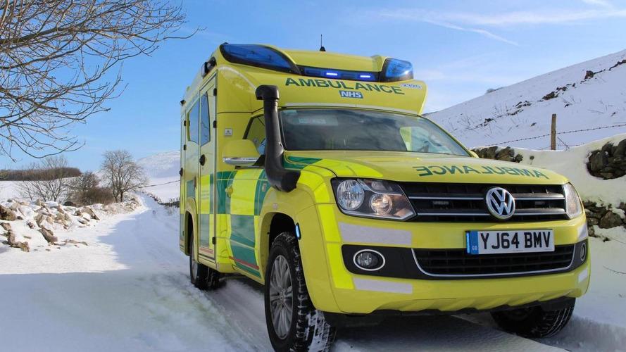 Volkswagen unveils a one-off Amarok ambulance