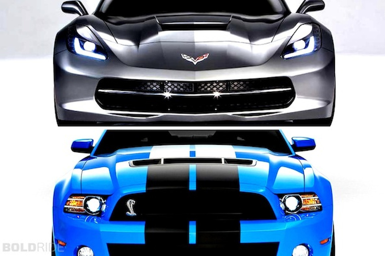 This or That: Corvette Stingray or Shelby GT500?