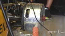 Renault Sport F1 Team RS16 rear brake duct detail