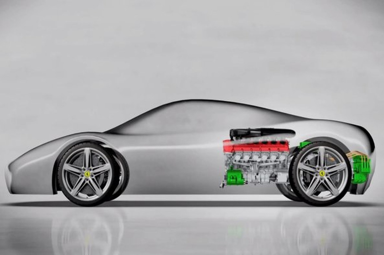 Ferrari F70 Could be Popping Up in Detroit Next Year
