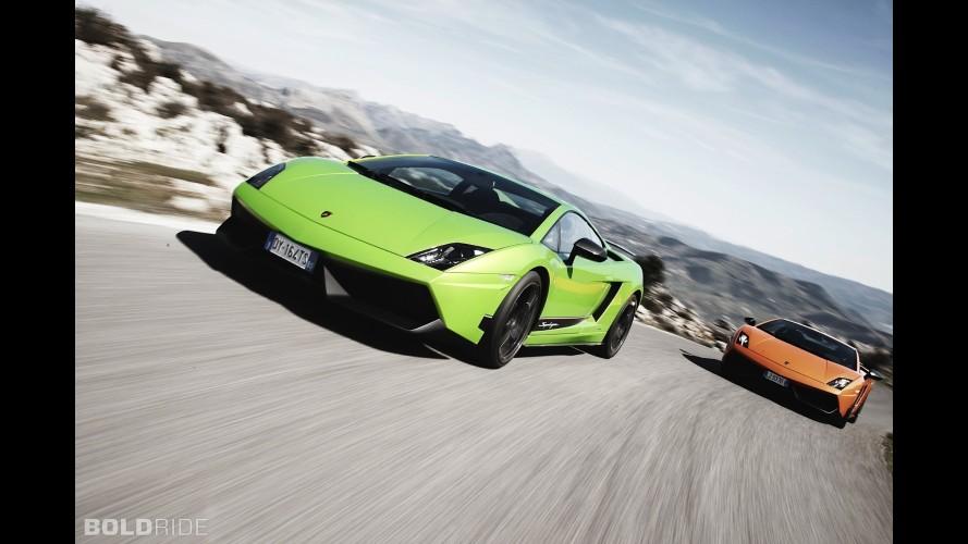 1,700 bg'lik Lamborghini Gallardo ve Chevrolet Corvette C6 Z06