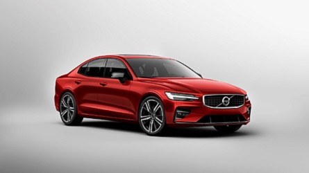 2019 Volvo S60 delivers sharp styling, up to 415-bhp