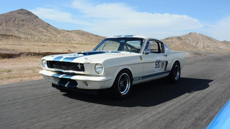 Driving The New-Old Shelby Mustang GT350 Competition