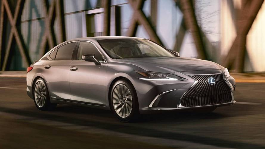 Lexus unveils new ES for 2018