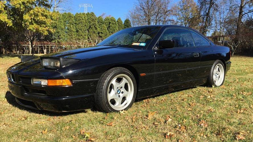 ¡Increíble! A la venta un BMW 850 CSi con 5.800 kilómetros