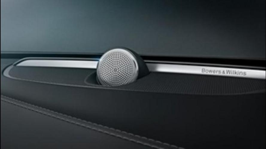 Nuova Volvo XC90, impianto audio Bowers & Wilkins