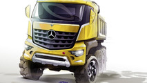 2013 Mercedes-Benz Arocs dump truck previewed