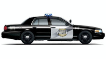 Ford E85 Crown Victoria Police Vehicle