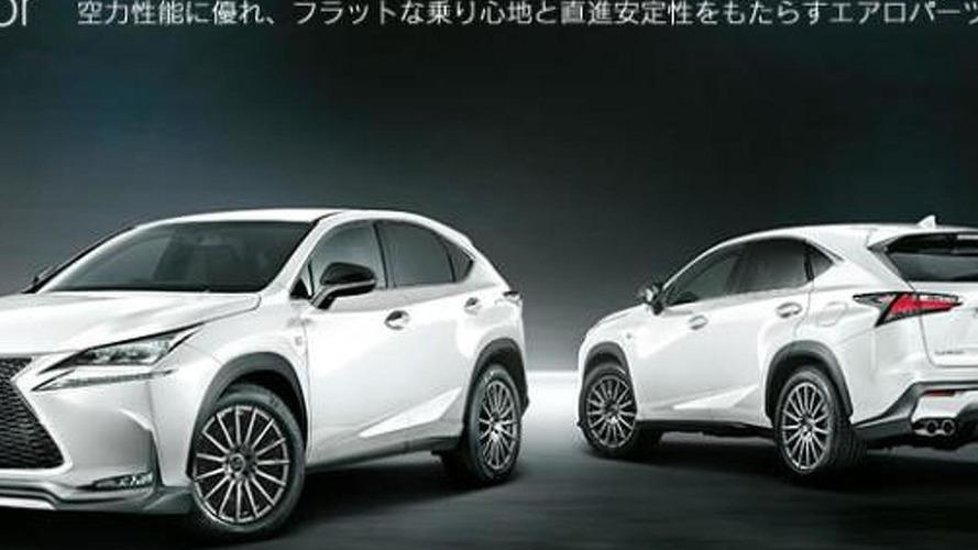 Lexus NX gains TRD styling accessories in Japan
