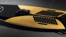 Mercedes surf board