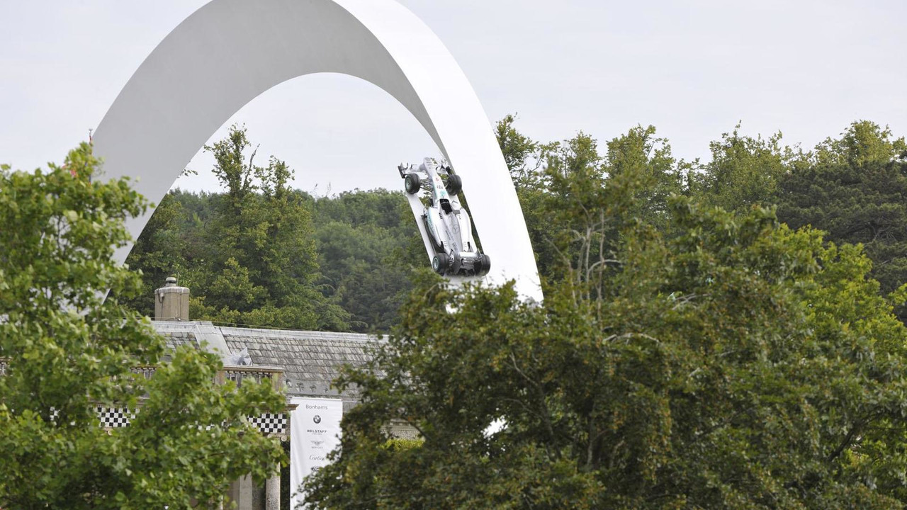 2014 Goodwood Festival of Speed sculpture