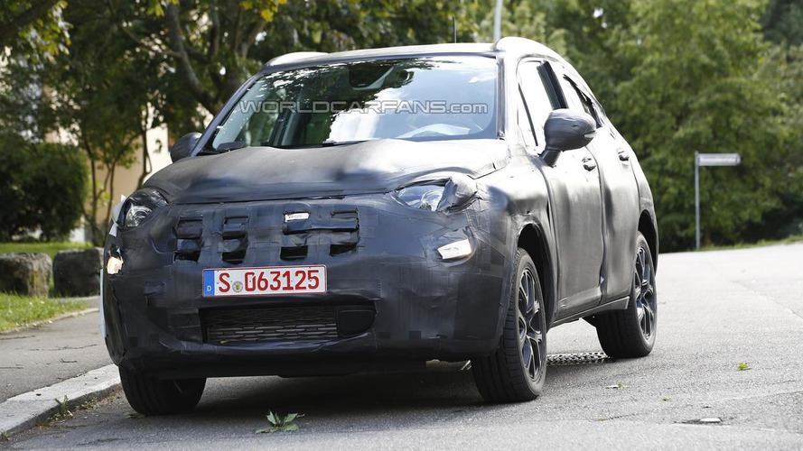 Fiat 500X spied testing in Germany
