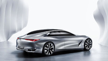 Infiniti shows off the rear of the Q80 Inspiration concept