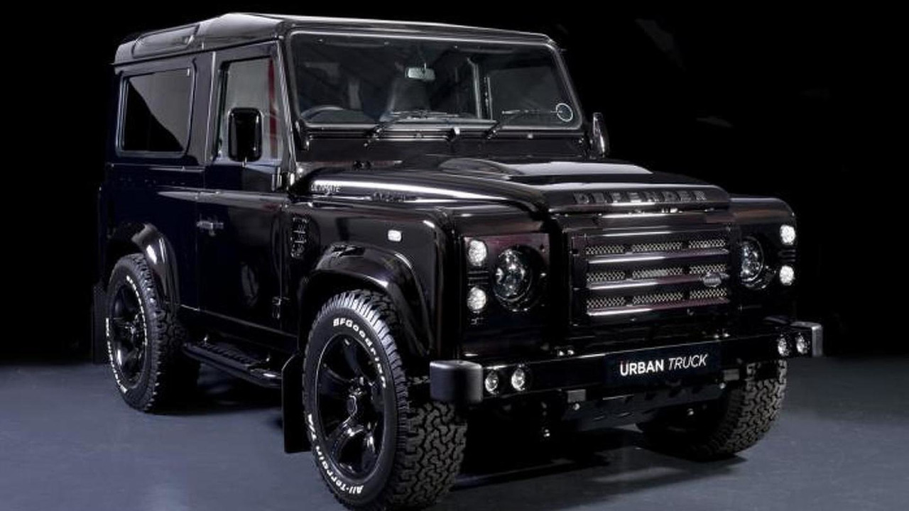Land Rover Defender For Sale Usa >> Urban Truck shows off their modified Land Rover Defender lineup | Motor1.com Photos
