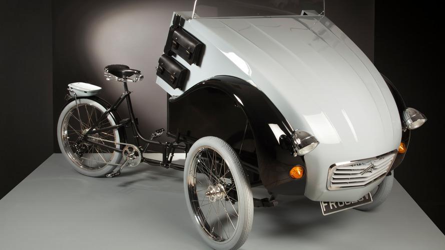 El Citroën 2 CV se transforma en bicicleta