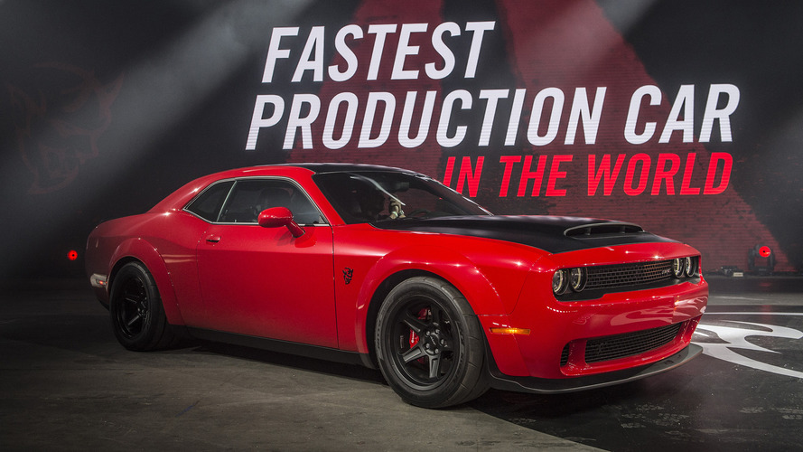 2018 Dodge Challenger SRT Demon: Dragster's Dream