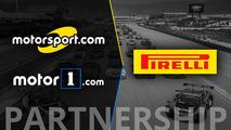 Motorsport.com, Motor1.com levam seus públicos globais para o Pirelli World Challenge