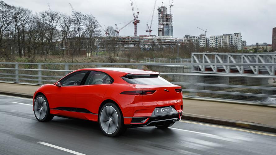 Jaguar I-Pace Konsepti Londra'da