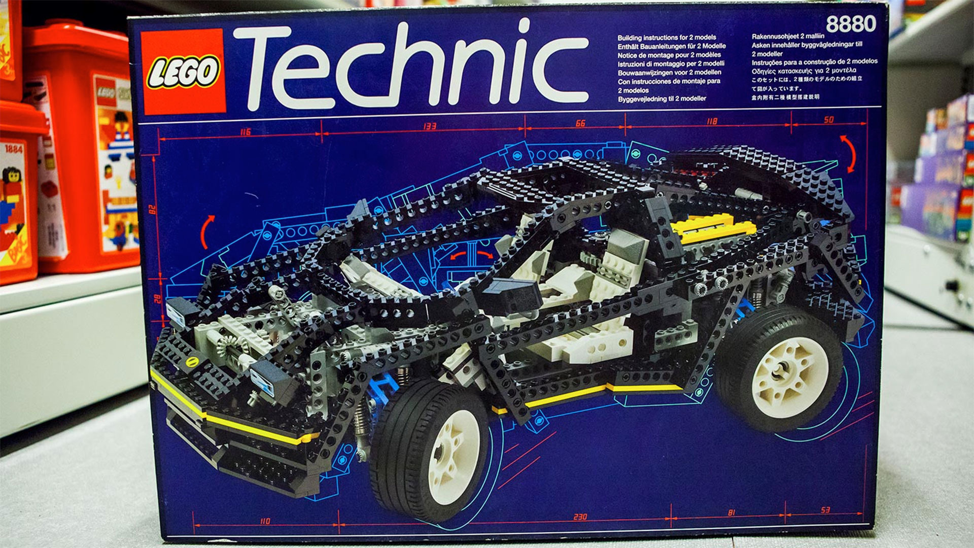 the lego technic car i always wanted now costs a thousand. Black Bedroom Furniture Sets. Home Design Ideas