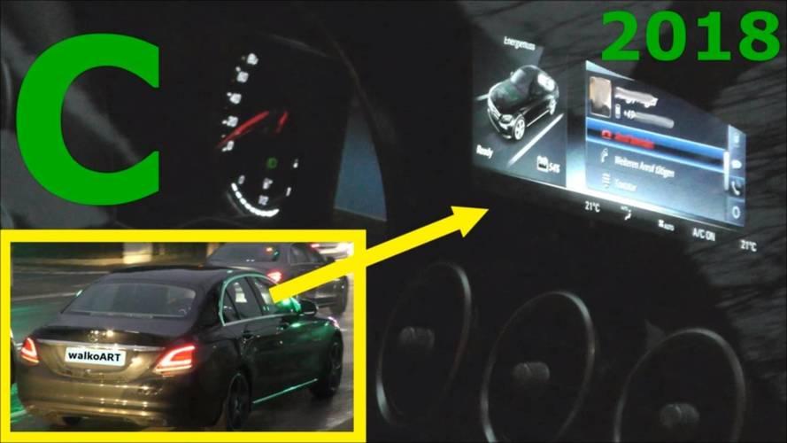 2018 Mercedes C-Serisi plug-in hibrit casus video