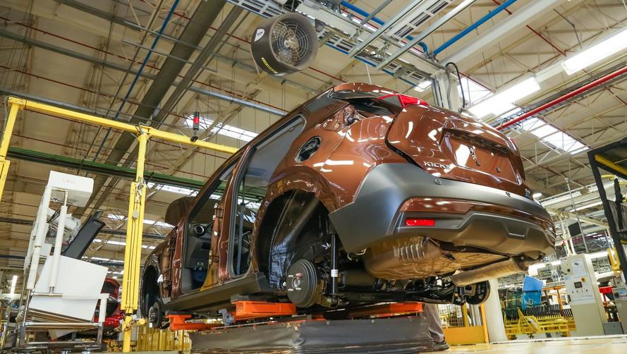 Produção nacional cresce 45,7% em agosto e anima setor automotivo