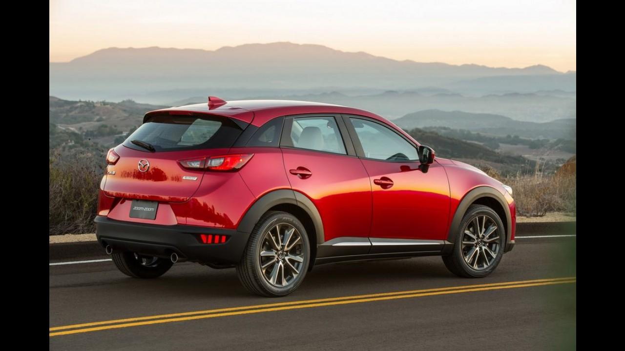 Mazda apresenta CX-3 e entra na briga contra HR-V e Tracker - galeria de fotos