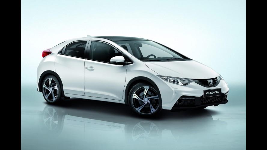 Honda apresenta pacote especial Aero para Civic hatch no mercado europeu