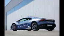 La Bella Polizia: Lamborghini Huracán passa a integrar frota da polícia italiana